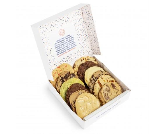 Assortiment de 12 cookies du jour